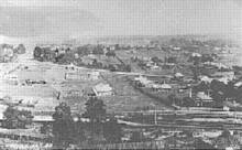 Penshurst from the Water Tower, 1913